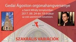 Orgonahangverseny Gedai Ágoston